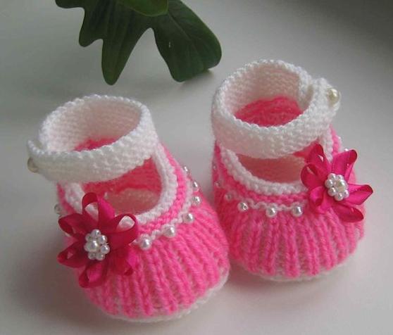 Bebek patik modelleri ve yapılışı